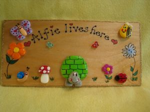 LARGE PERSONALISED WOODEN TORTOISE SIGN  PLAQUE BEDROOM VIVARIUM TABLE GARDEN HANDMADE 9.5 x 4.5 inches UNIQUE
